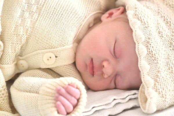 Ensemble de naissance en laine mérinos bio Ode to Wool